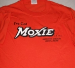 World's Largest Moxie Bottle Tee - Front